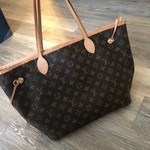 Louis Vuitton Neverfull MM AUTHENTIC